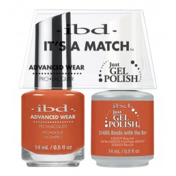 IBD Just Gel Polish Chalet Soiree DUO Boots with the Brrr (14ml)
