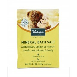 Kneipp Mineral Bath Salt Crystals Everything's Gonna Be Alright (12pc x 60g)