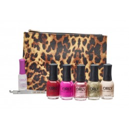 orly 7pc wild thing collection and bag