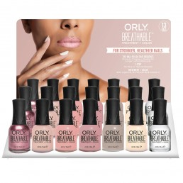 ORLY Breathable Polish Nudes collection 21pc