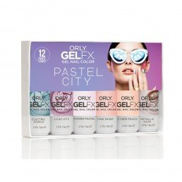 ORLY Gel FX Pastel City 6 Pc Kit