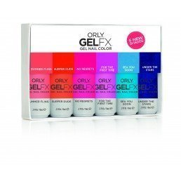 ORLY Gel FX Polish Coastal Crush 6pc