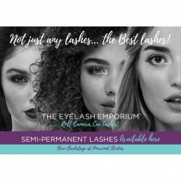 The Eyelash Emporium Marketing A3 Generic Poster - Not Just Any Lashes