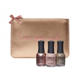 ORLY Christmas Gifts Rose Gold Clutch