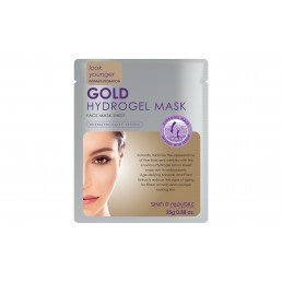 Skin Republic Hydrogel  Gold Face Mask 25g 10pk