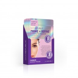 Skin Republic Face sheet Mask  Prime + refine 3 minute primer 18ml