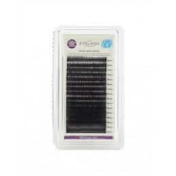 The Eylash Emporium Tray Lashes B-Curl, 0.20mm, Mixed Lengths, 'Mink'