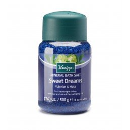 Kneipp Mineral Bath Salt Crystals Sweet Dreams Valerian  Hops (500g)