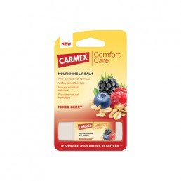 Carmex Blister Pack Stick Comfort Care Mixed Berry Flavour 4.25g