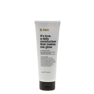 b.tan Gradual Tan Its love a daily moisturiser that makes me 200ml
