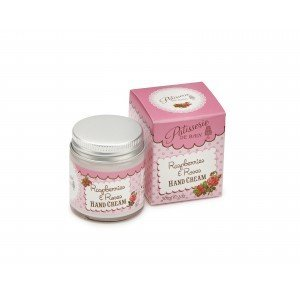 Patisserie de Bain Hand Cream Jar Raspberries  Roses Jar (30ml)