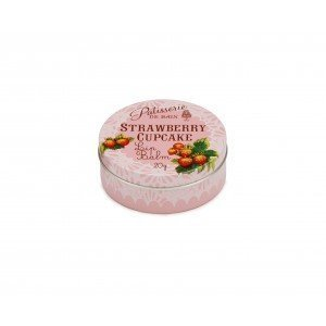 Patisserie de Bain Lip Balm Strawberry Cupcake Tin (20g)