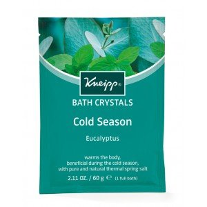 Kneipp Mineral Bath Salt Crystals Cold Season Eucalyptus  (12pc x 60g)
