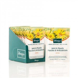 Kneipp Mineral Bath Salt Crystals Joint  Muscle Arnica (12pc x 60g)