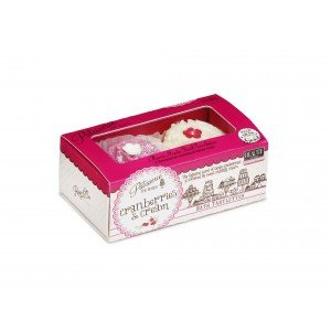 Patisserie de Bain Bath Tartlette Duo Cranberries  Cream (2 x 45g)