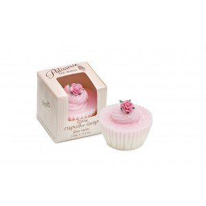 Patisserie de Bain Cupcake Soap Rose (1pc)